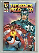 HEROES REBORN #1/2 1996 WIZARD MAGAZINE MAIL AWAY COMIC! JIM LEE ART! W/ COA NM