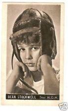 Dean Stockwell Vintage 1950s Kwatta Movie Star Card Look! B