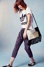Ecote Boho Shag Tapestry Foldover Suede Crossbody Shoulder Bag Urban Outfitters