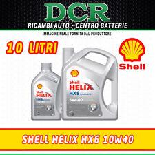 ACEITE MOTOR SHELL HELIX HX8 5W40 SINTÉTICO ACEA A3/B4 10 LITROS 502.00 505.00