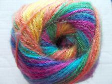 YarnArt Angora Active mohair blend luxury yarn, multi tones, 1 skein,547 yds