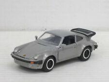 Porsche 911 Turbo in graumetallic, o.OVP, NZG Modelle 266, 1:43