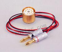 Gold EL84 6BQ5 6P14 Nakamichi Plug Tube Bias Current Tester Tool Amp Suzier M2