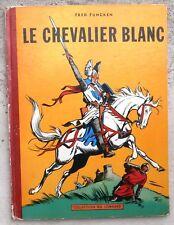 Le Chevalier Blanc EO belge 1956 ( très beau cahier ) Funcken Macherot