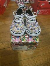 vans nintendo princess peach size 6 toddler skate shoes for $50