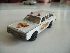 Matchbox Superfast Mercury Police Car in White