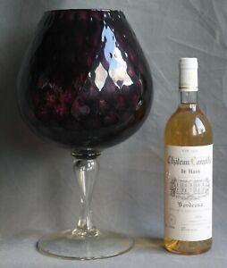 giant drinking glass display bowl pot pourri vase