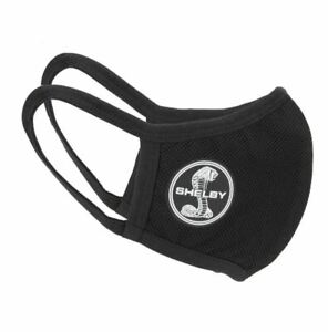 Shelby Mustang Mesh Lining Face Mask - Black * We Ship Worldwide & FREE to USA!