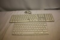 JOB LOT X 2 APPLE KEYBOARD A1314 AND A1243