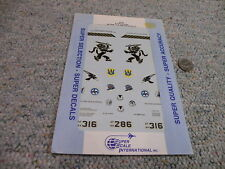 Superscale decals 1/32 32-57 F-16C Falcons 86TFW 512 526 FIS     E133