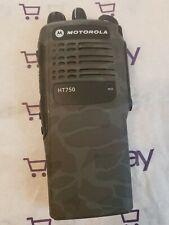 Motorola HT750 AAH25RDC9AA3AN 16CH Two Way Radio Police Fire EMS portable Camo