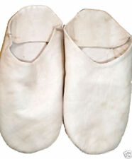 Chaussons blancs pour homme, pointure 39