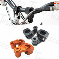 2 Colors 1-1/8'' Bar Pivoting Mount Clamp Risers For KTM 990/950 Adventure
