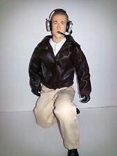 "1/4.5 ~ 1/4 Scale 15"" Tall Civilian RC Pilot Figure w/Servo Operated Moving Head"