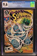 Superman Man of Steel #18 CGC 9.6, 1st Appearance Doomsday, DC Universe Logo DCU