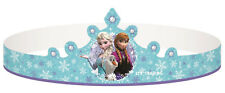 Disney Frozen Themed Birthday Party Supplies Pack of 8 Cardboard Tiaras Hats