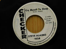 Steve Alaimo 45 Cry My Self To Sleep / One Good Reason ~ Checker VG- Teen