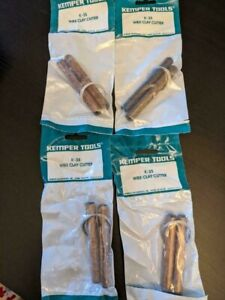 (4) New Kemper Tools K35 Wire Clay Cutters