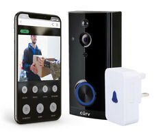 Video Doorbell IR Camera Wireless WiFi Security Phone Bell Intercom 1080P HD UK