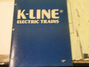 K-Line 1986 Catalog
