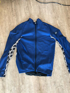 ASSOS Mille GT Summer Long Sleeve Cycling Jersey in Blue - Large