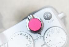 Pro Quality Shutter Button Soft Release Metal Anod Pink Flat Fuji XT2 X20 X100