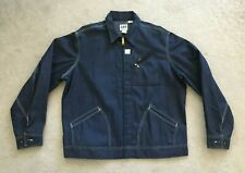 Vintage Deadstock Lee Union Made In Usa Denim Jacket-Size 46L-New!