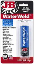 J-B Weld WaterWeld Specially Formulated Epoxy Putty Sets Under Water 900 psi