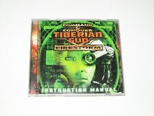 Command & Conquer Tiberian Sun Firestorm Expansion PC Game Complete