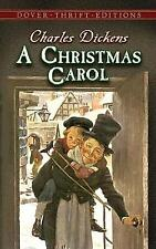 A Christmas Carol: 9 (Dover Thrift Editions) by Dickens, Charles