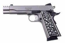 1911 fits Colt Remington Springfield S&W 3D Skulls Solid Aluminum Grips V Fast