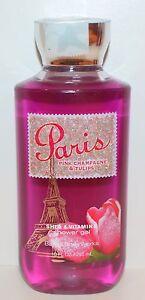 Bath&Body Works Paris Rosa Champagne Tulipanes Ducha Gel Shea Vitamina E 296ml