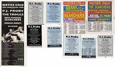 PJ PROBY : CUTTINGS COLLECTION -adverts-