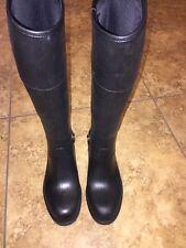 Gucci Rubber Waterproof Rain Boot, Womens, Size 5 US 35 EU  $400 Retail