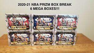🔥 KNICKS - 2020-21 NBA PRIZM TEAM BOX BREAK - 6 MEGA BOXES - RED ICE!!!🔥