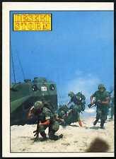 Here Come The Marines #136 Desert Storm 1991 Merlin Sticker (C959)