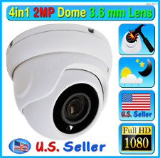 HD 2MP 1080P 4in1 Security Camera 3.6mm Lens Dome Outdoor CCTV TVI AHD CVI etc