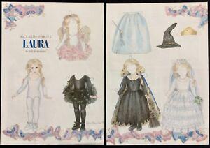 Laura Little Girl Ballerina Doll Magazine Paper Doll, 1993, by Sue Shanahan