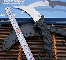 New Cold Steel Tiger Karambit Neck Fixed Knife VG-1 Blade W/ Sheath