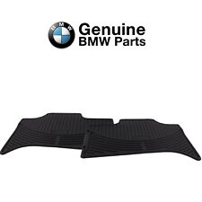 For BMW E53 X5 2000-2006 Rear Black Rubber Floor Mats Set Genuine 82550151190