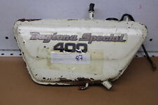YAMAHA RD400  RIGHT SIDE COVER OIL TANK (YTPU151)