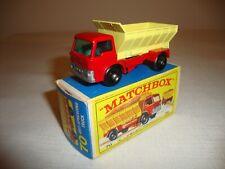 LESNEY MATCHBOX 70B GRIT SPREADING TRUCK - EXCELLENT in original E4 BOX