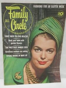 Family Circle Magazine April 1960 Easter Fashions Spring Moods In Make Up
