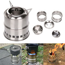 Outdoor Portable Wood Burning Stove Stainless steel Alcohol Stove Party UK