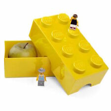 LEGO boîte goûter Jaune, repas, Yellow lunch box, Gelb Mittagessen-Box