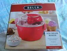 Bella Ice Cream Maker  Model #13716 New in Box