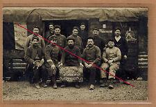 Carte Photo RPPC 5e RG génie sapeurs chemins de fer Versailles à Sommesous m227