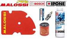 Kit Entretien Filtre Malossi Bougie Bosch Huile Ipone  Piaggio X Evo 125 (Euro 3