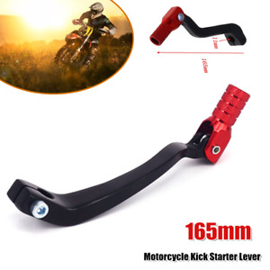 165MM Universal Motorcycle Foldable Gear Lever Foot Bracket Kick Starter Pedal