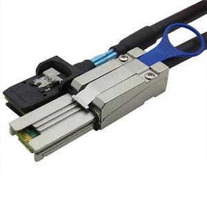 Mini SAS 26 SFF-8088 to Mini SAS 36pin SFF-8087  1M cable